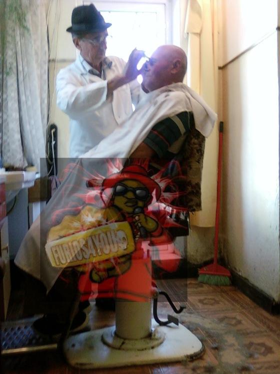 Chelu la frizer