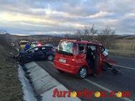 BREAKING NEWS: Accident grav între două autoturisme la intrare în ȘuraMare