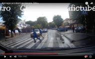 Şofer din întâmplare: Șmecher din VÂLCEA, la un pas să lovească pietonii cu BMW-ul!!!