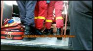VIDEO: Un bărbat nu a răspuns manevrelor de resuscitare și a decedat în autobuzul 111 dinSibiu